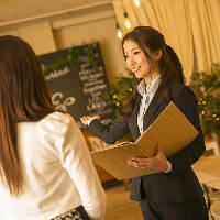 【経験豊富なスタッフ】 宴会当日までしっかりとサポート!