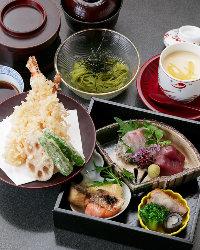 お昼の宴会・会食にはお値打ちの特別料理をご用意しております