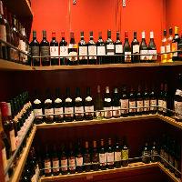 隠し部屋のようなワインセラー お気に入りの一本があるかも