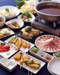 オススメの【食べ放題コース】は1980円からご用意しています!