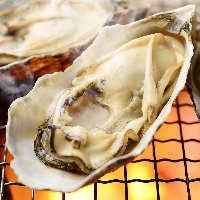 サザエにホタテ、大はまぐりや牡蠣など海鮮浜焼きもオススメ☆
