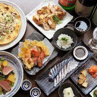 エビス特選の日本酒が飲み放題のコースあります☆