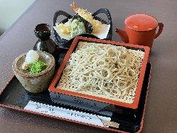 天ざる蕎麦 1220円