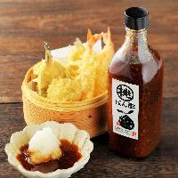 自家製「桃ぽん酢」は米福でしか味わえない絶品のぽん酢です