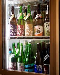 厳選した奈良の地酒を約15種類常備◎5勺からご提供!