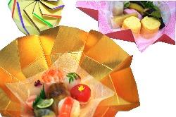 「京手まり弁当」の「季節のおばんざい」のみも店頭にて販売中!