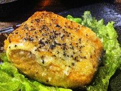 洋風の焼き魚も好評♪サーモンのマヨネーズ焼き