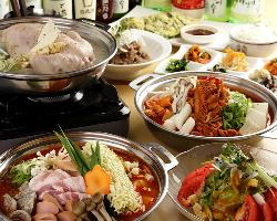 選べる鍋コースは1,980円よりご用意!宴会で鍋パーティー!