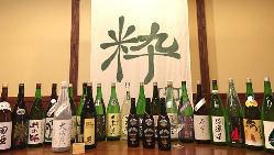 豊富な日本酒が魅力。特に東北の銘柄を中心に多彩な品ぞろえ
