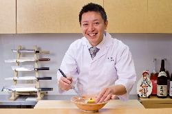 某有名日本料理での経験を活かしたおもてなしを致します。