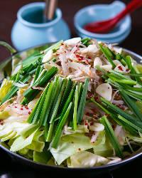 鍋は大人気メニューのひとつです。