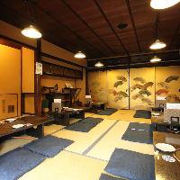 京都ならではの京町屋の雰囲気♪2階は35名様~40名様で貸切可能