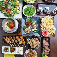 お料理だけのコース2,000円〜 女子会、ママ会、下見にもぜひ◎