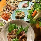 土佐食材をふんだんに楽しめる【夏季限定】じろう満喫コース!