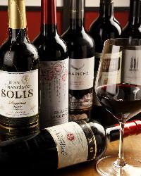 町家でワインをお楽しみください。