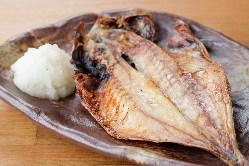 干魚は旨味が凝縮され美味!日本酒と相性抜群♪