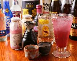 ドリンクメニューも豊富です!焼酎や日本酒 獺祭も♪