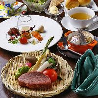 A4ランク以上の黒毛和牛や国産牛を使用したステーキをご提供!