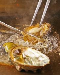 新鮮!海の幸の鉄板焼もおすすめ!お祝い事にもぴったりです♪