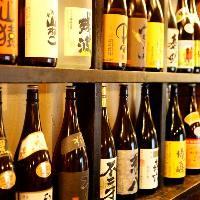 全国から厳選日本酒を20種類以上ご用意!焼き鳥との相性は最高!!