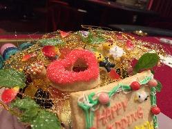 可愛すぎるスペシャルホールケーキも