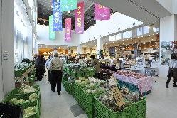 1階産直市場は契約農家から届く新鮮なお野菜・食品がGood!