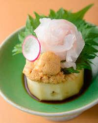 京都で修業した職人が 贈る華やかな創作和食
