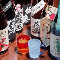 【希少銘柄のお酒】 全国の希少な銘酒や焼酎も多彩に取り揃え!