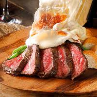 厳選された新鮮食材を使用♪自慢のチーズ料理たちを是非!!