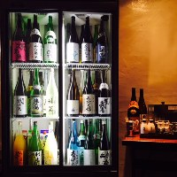 京都の日本酒36種類と果実酒9種類が飲み比べし放題!