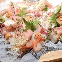 旬の魚を中心に楽しむ和食