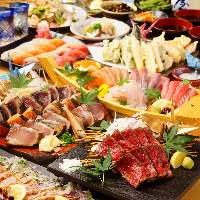 うつぼや鯛・鰤、鶏や牛・鴨肉まで!種類豊富な藁焼きは当店自慢