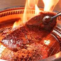 名物!牛肉・海鮮 お好みの食材をさっとあっぶて召し上がれ!