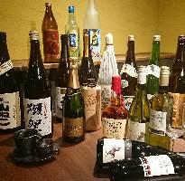 日本酒・焼酎~etc プレミアムな裏メニューもご用意!