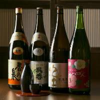 スッキリ辛口から、極甘口まで。多彩な飲みくちの日本酒が魅力