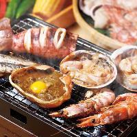 海の幸をお腹いっぱい堪能できる贅沢な料理が盛りだくさんです!