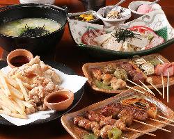 2時間食べ飲み放題コース3,000円(税抜)