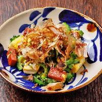 沖縄の定番料理「ゴーヤチャンプルー」ももちろん絶品♪