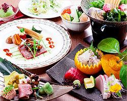 ◆コース◆ 色鮮やかなコース料理は目でも楽しんで頂けます。