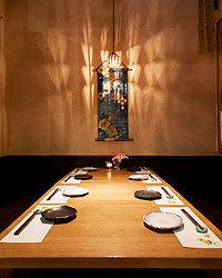 ◆個室◆ プライベートな空間で落ち着いてお食事して頂けます。