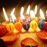 ●誕生日、大切な記念日に●メッセージ入りデザートプレートで☆