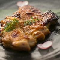 日本酒や焼酎に合う、上品な肉料理もお楽しみください