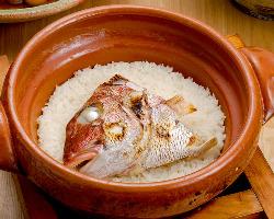 シャンスオリジナル 海の精の塩と昆布出汁の鯛めしは人気◎