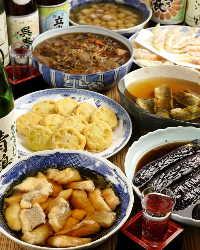新鮮お造り・焼き魚など旬なお料理各種ご用意しております。