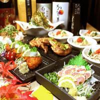 ご宴会コースは2,980円~多数ご用意しております!!