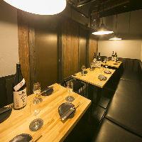 テーブル個室は最大16名様OK!会社宴会などにおすすめの空間です