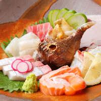 鮮度抜群の魚介を本当に美味しいお召し上がり方で。