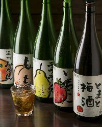 珍しい果実酒に注目! 梅酒をはじめ多彩な品揃え