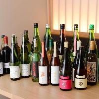 知る人ぞ知るラインナップが自慢!厳選した日本酒&ワイン