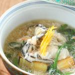 旬食材を使った、料理長が織り成す創作料理をお楽しみください。